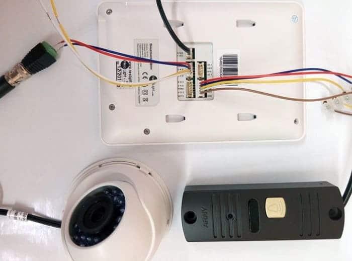 Подключение дополнительной видеокамеры