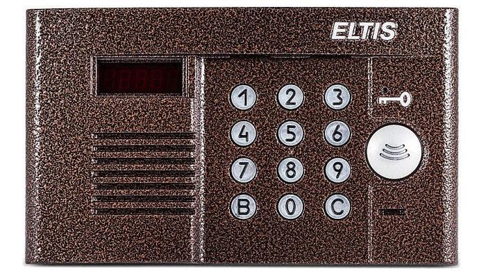 Как открыть домофон Eltis без ключа при помощи кода?