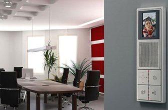 Видеодомофон для офиса - популярные модели и особенности монтажа