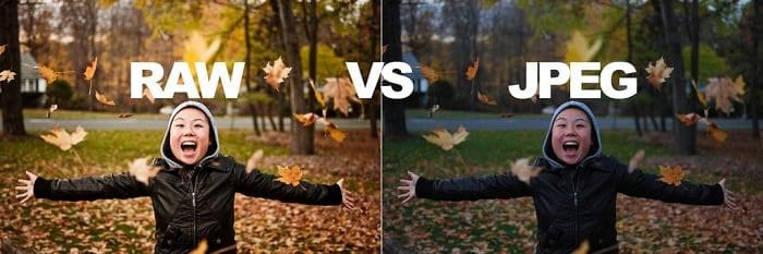 RAW vs JPEG: какой формат изображения использовать?