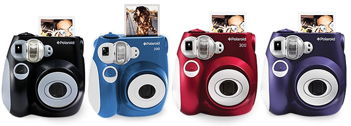 Polaroid PIC 300 - оригинальный дизайн