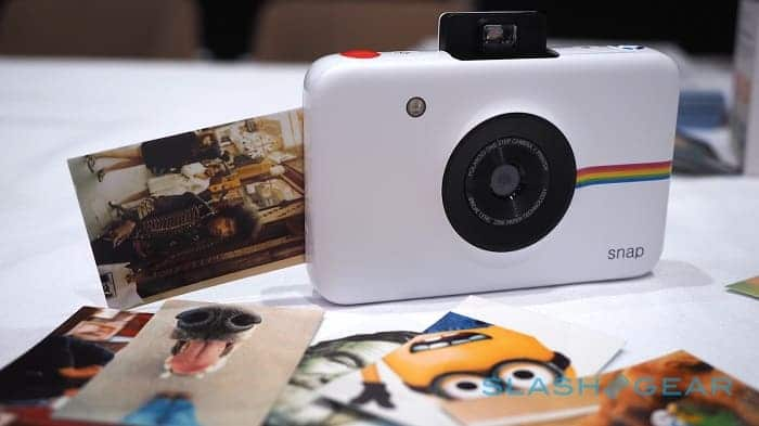 Polaroid Snap - очень маленький фотоаппарат