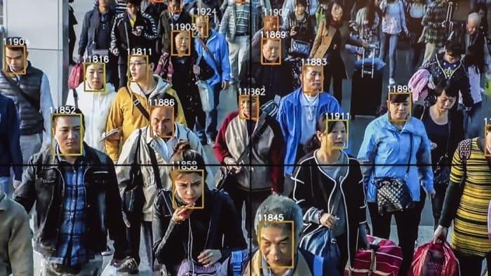 Система распознания лиц в китае