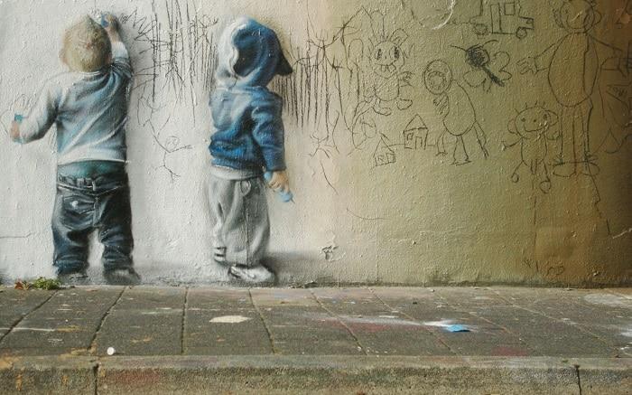 Антиграффити - покрытие которое защитит Ваши стены от вандалов
