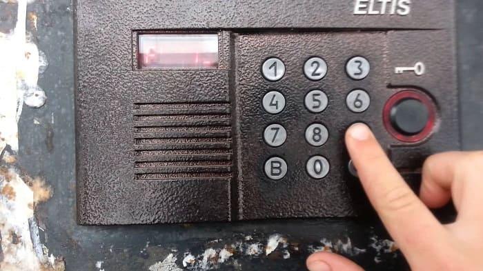Изменение кода к домофону в зависимости от производителя