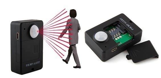 Датчик движения с GSM модулем
