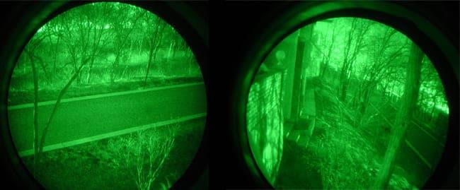 Поколение три очки ночного видения