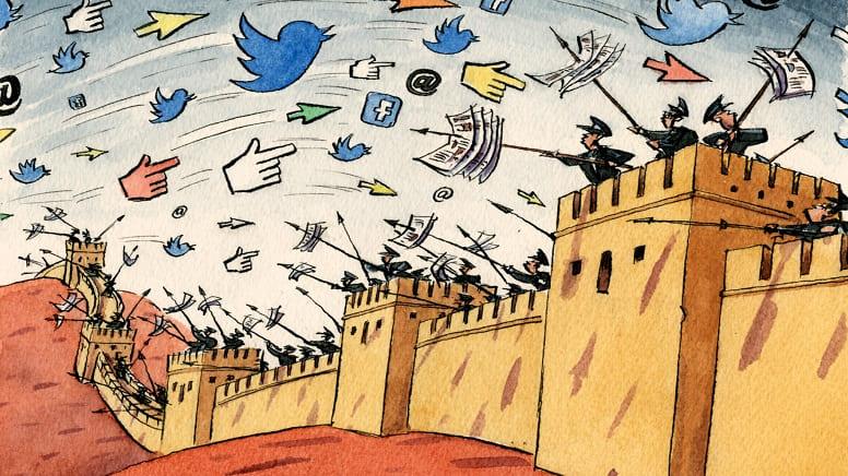 """Как работает Великий Брандмауэр Китая """"Золотой щит""""?"""