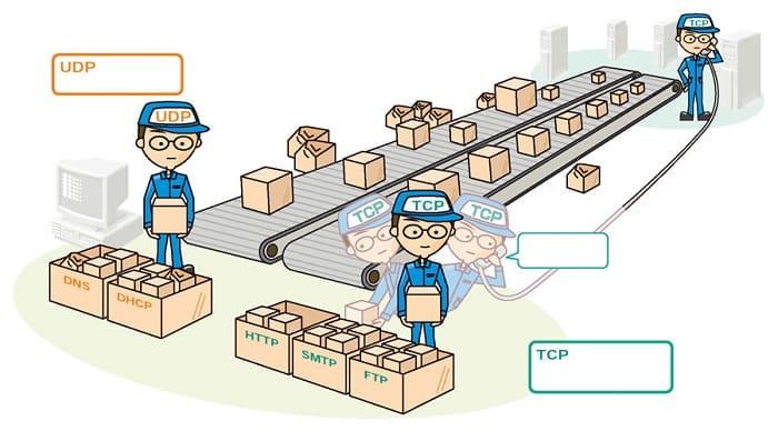Как работают TCP и UDP