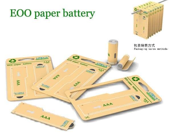 Как работает бумажная батарея?