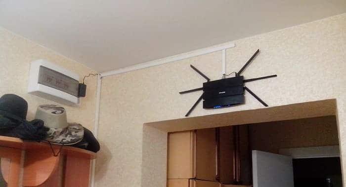 Где разместить роутер для лучшей скорости Wi-Fi?