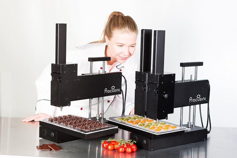 3D принтеры для печати пищевых продуктов
