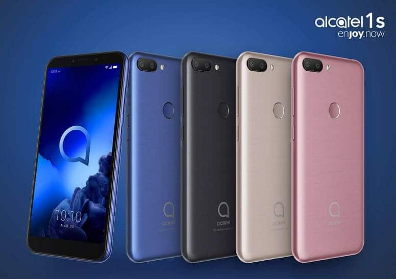 Alcatel 1S - стильный и удобный