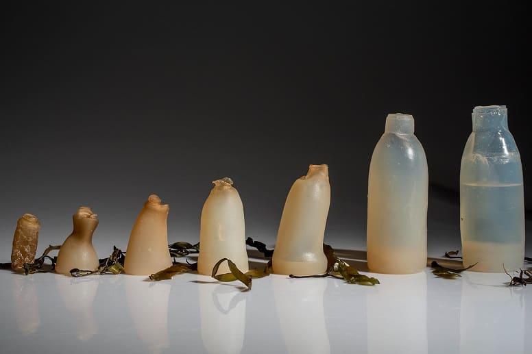 3. Съедобные бутылки с водой
