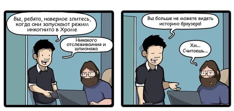 Никто не узнает о вашей деятельности в браузере в режиме инкогнито