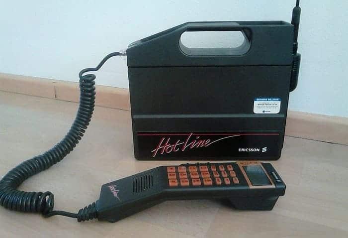 Ericsson первый телефон