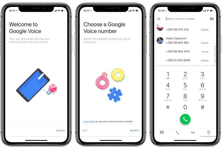 Как пользоваться Google Voice?