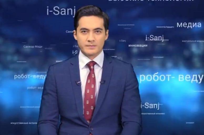 I-Sanj: первый виртуальный новостной ведущий Казахстана