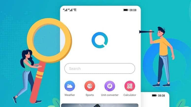 Huawei Search - это мобильное приложение для поиска, которое будет конкурировать с Google