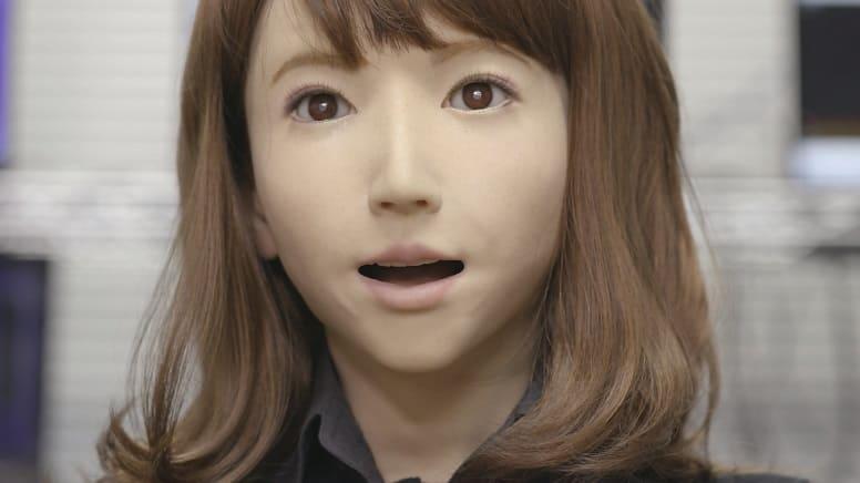 Эрика - самый красивый робот