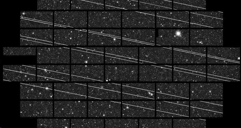 Запущено еще 60 спутников SpaceX. Маск обещает снизить яркость из-за жалоб астрономов.