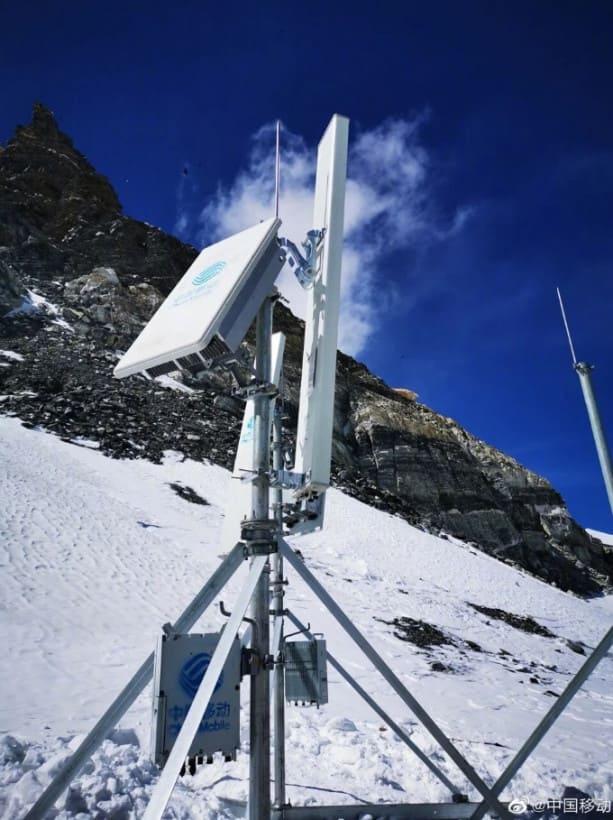 Первые 5G вышки были установлены на Эвересте.