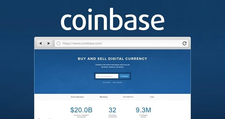 Кошелек Coinbase позволяет отправлять криптовалюту через имя пользователя!