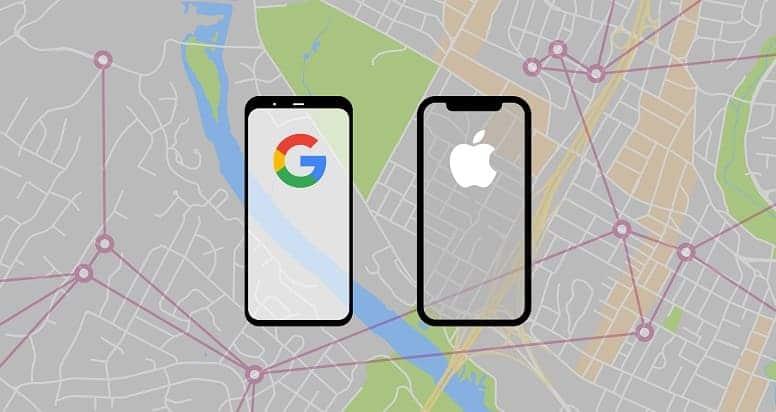 Google и Apple будут совместно отслеживать пользовательские данные через Bluetooth, чтобы бороться с COVID-19