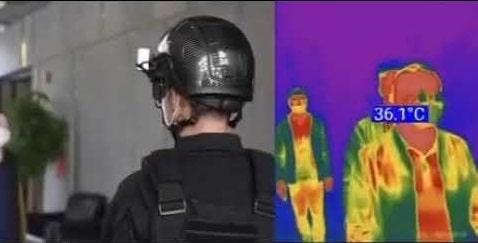 Умные шлемы для полицейских