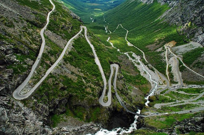 Дорога Троллей, Норвегия
