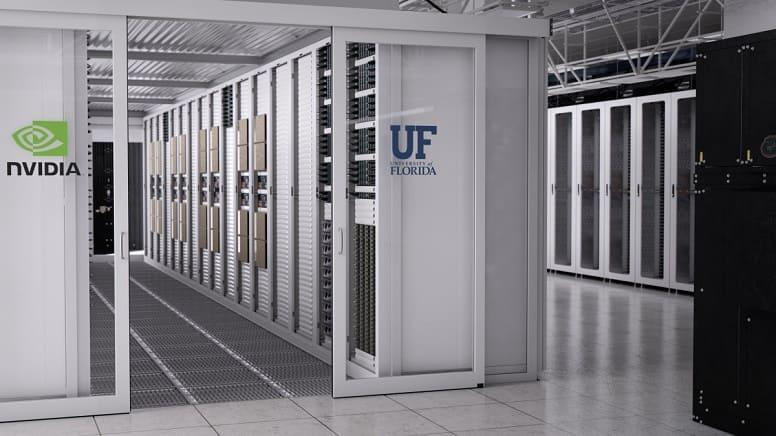 Nvidia строит самый мощный суперкомпьютер для искусственного интеллекта