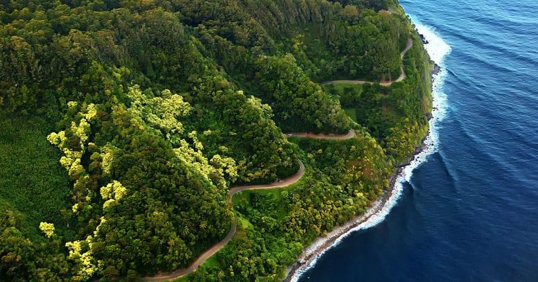 Дорога на Хану, Гавайи
