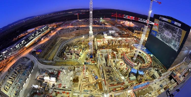 Во Франции началось строительство крупнейшего в мире термоядерного реактора