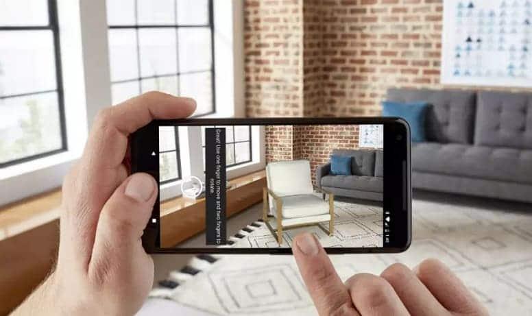 Последний инструмент Amazon для покупок с дополненной реальностью заполняет ваше пространство виртуальной мебелью