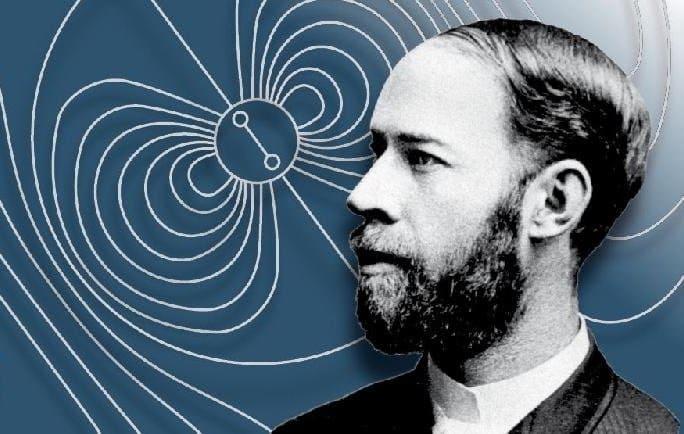 Первым человеком, создавшим радиоволны, был Генрих Герц.