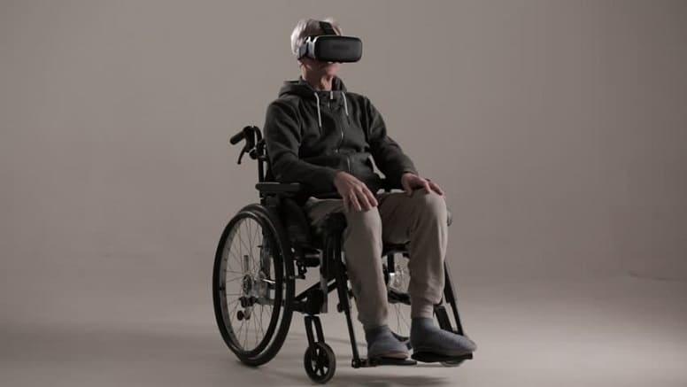 виртуальная реальность помогает инвалидам