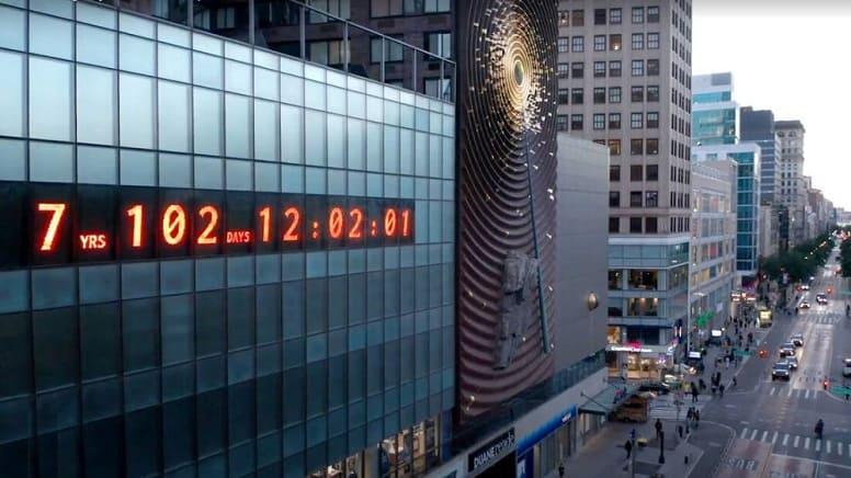 Климатические часы Нью-Йорка