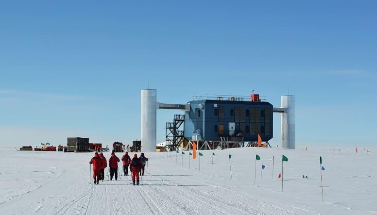 IceCube обсерватория