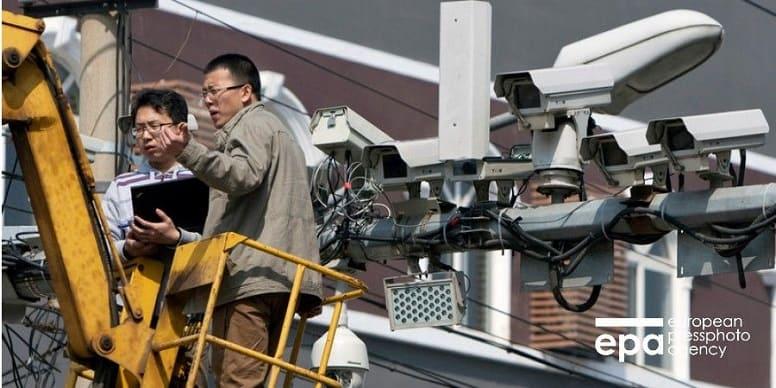 Китайская слежка