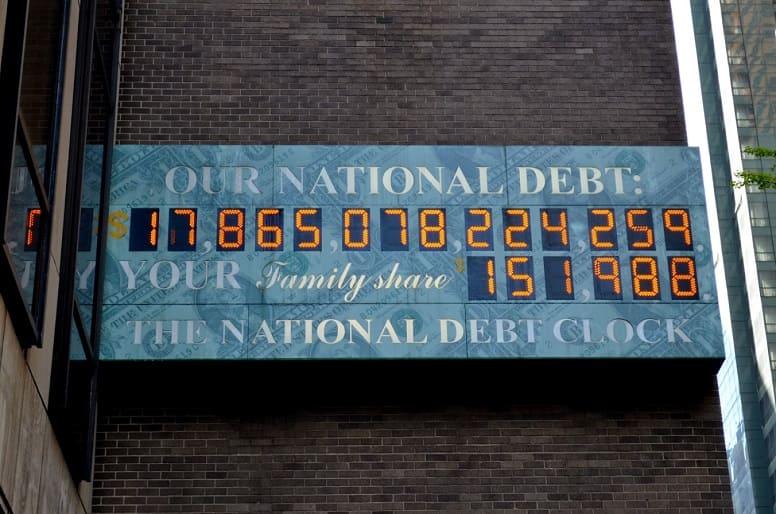 Часы государственного долга