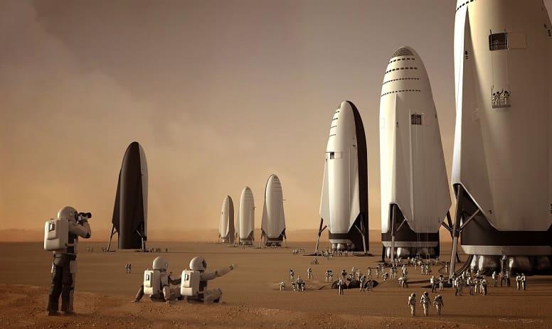 Илон Маск: колонии SpaceX на Марсе не будут подчиняться законам Земли