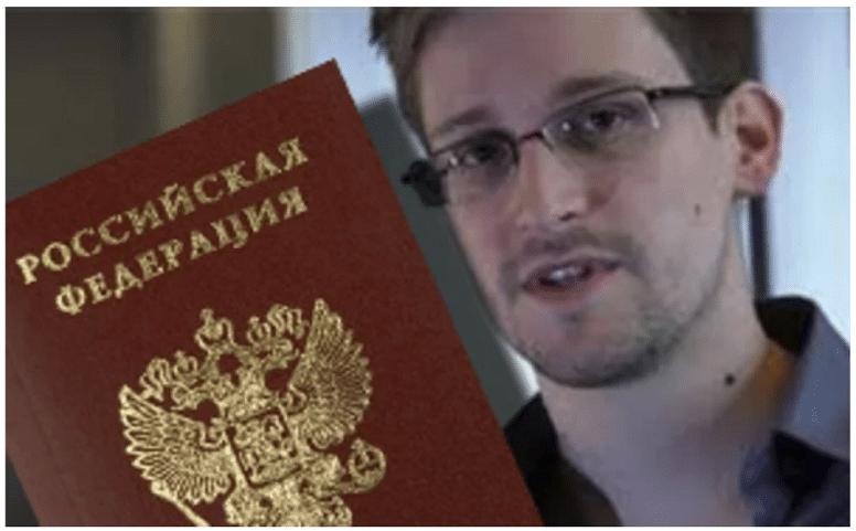 Эдвард Сноуден подал заявление на получение российского гражданства