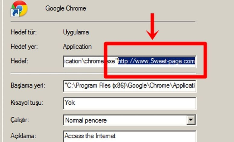 Как удалить Sweet-Page из Chrome?