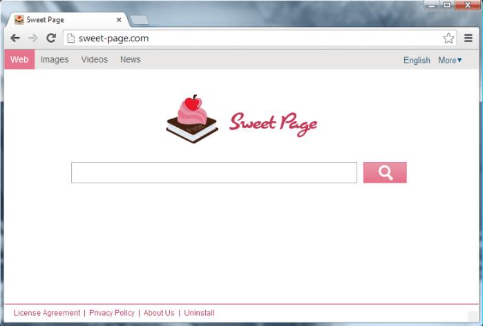 Sweet-Page - как удалить браузер-угонщик?
