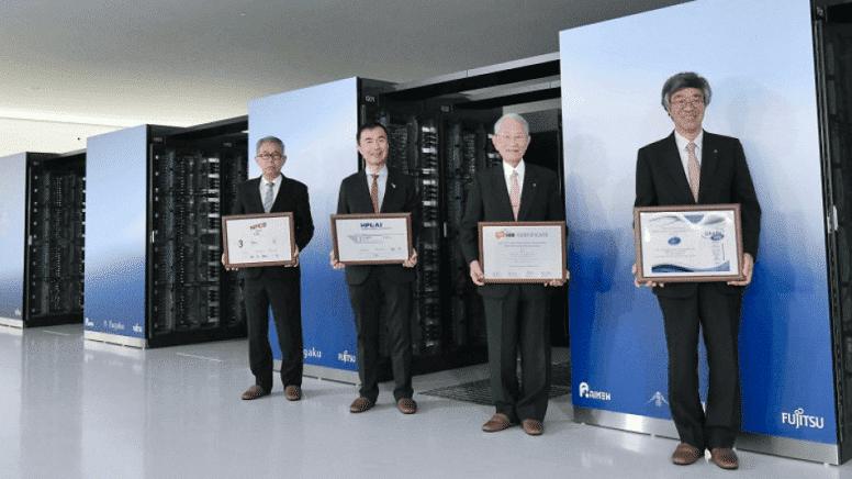 Fugaku бьет рекорды производительности. Японский суперкомпьютер стал еще мощнее.