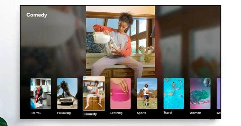 TikTok попадет на телевизоры Samsung