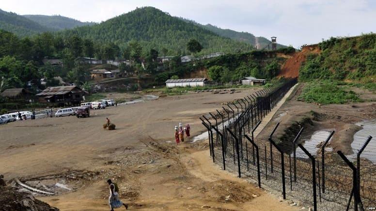 Китай строит стены, чтобы помешать гражданам бежать.