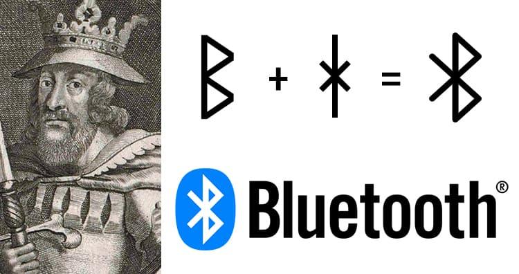 Откуда появилось название и логотип Bluetooth?