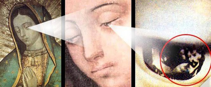 Глаза Богоматери Гваделупской