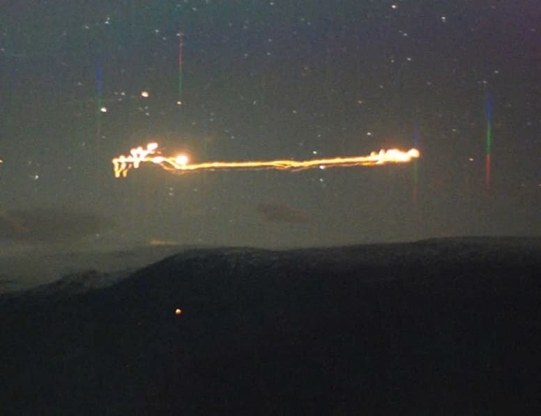 Таинственные огни над Хессдаленом